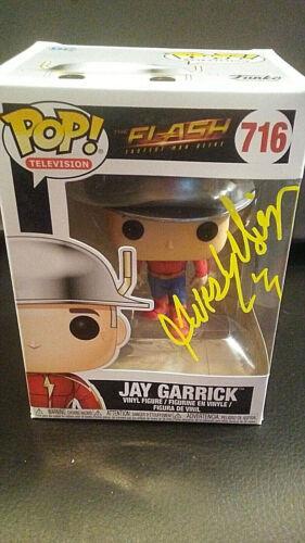 Autographed - Funko Pop - The Flash - Jay Garrick #716 - John Wesley Shipp + COA