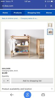 Baby table change FREE East Perth Perth City Preview