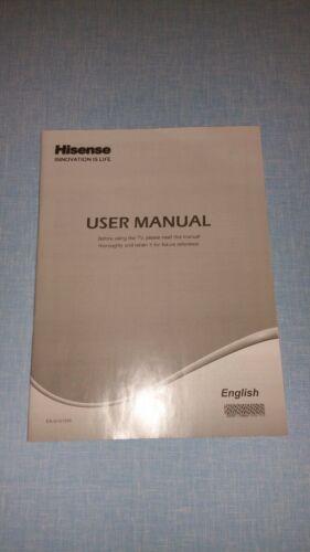 HISENSE TV USER MANUAL ES-G121204