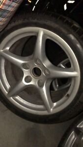Porsche 911 winter tires.. will fit multiple sports cars