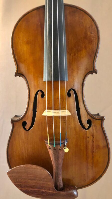Old, Full Size, German Made, Conservatory Violin Fully Restored