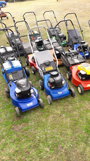 For sale lawn mowers from $120 to $150 each all run well  VGC
