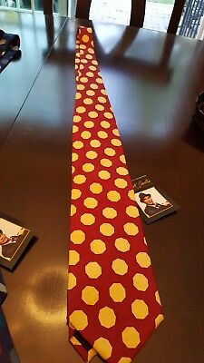 O3 Frank Sinatra Neck Tie 80th Birthday Collection Navy Red Gold Grey BNWT OS