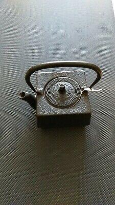 Cast Iron Square Teapot (Square Cast Iron Teapot Black)