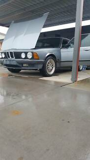 1985 735I BMW E23. Canberra City North Canberra Preview