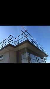 Roof Edge Protection Safety Rail Guard Rail for hire Burleigh Heads Gold Coast South Preview