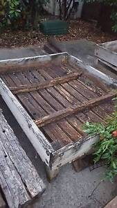 --FREE-- Raised Garden Beds & Treated Pine Log Pieces Stanhope Gardens Blacktown Area Preview