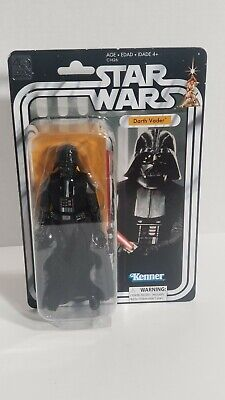 "Star Wars 40TH Anniversary Darth Vader 6"" Action Figure Kenner Cloth Cape"