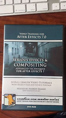 SERIOUS EFFECTS AND COMPOSITING/VIDEO TRAINING FOR AFTER EFFECTS 7.0
