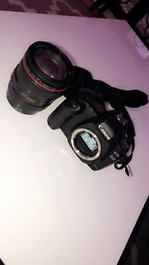 Canon 5D mark II with Lens 24-105mm