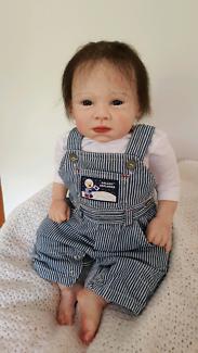 Reborn lifelike baby boy with dummy!!