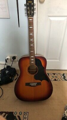Vintage Yamaha FG-336SB Acoustic Guitar in Sunburst
