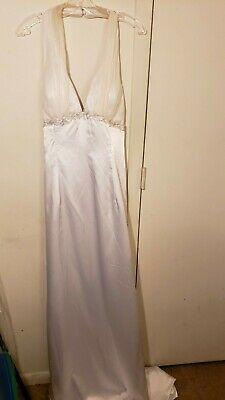 Andy Anand Couture Bridal / Wedding Dress / Gown With Train Size 18