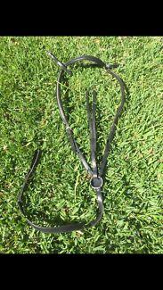 Black Swarovski Crystal Breastplate