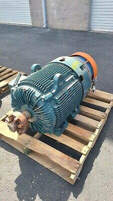 100 Hp Baldor-reliance Ac Electric Motor 1800 Rpm Fr 405tz Tefcbb 460 V Eok
