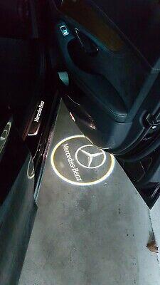 2x Mercedes Benz Türlicht Projektor Einstiegsbeleuchtung C W203 CLK SLK R171