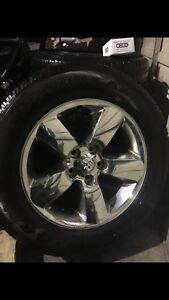 "20"" Ram Wheels/Sensors/lock nuts"