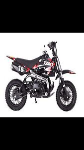 Brand new Tao Dirt Bike DB 10 110cc Key Electric Start