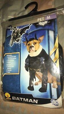 """BATMAN""  HALLOWEEN COSTUME Dog Puppy Medium Superman Superhero Batgirl New NIP"