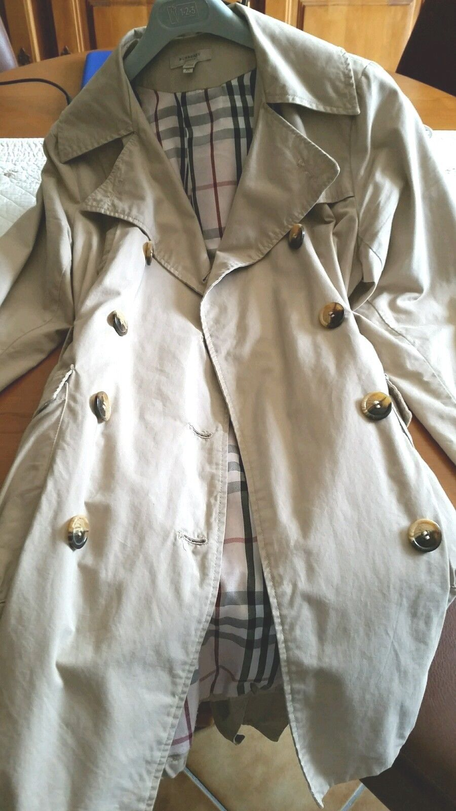 Trench burberry authentique forme boule