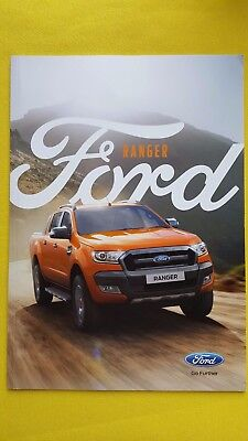 Ford Ranger Wildtrak XL XLT Limited brochure sales catalogue May 2016 MINT