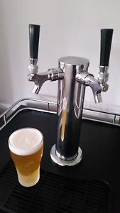 Twin tap series 3 kegerator  complete setup Berkeley Vale Wyong Area Preview
