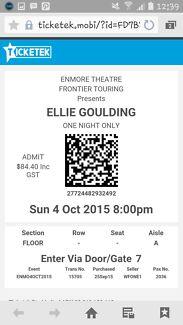 ELLIE GOULDING CONCERT Sydney City Inner Sydney Preview