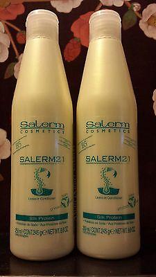Salerm 21 B5 Silk Protein 8.6 OZ.(250 ML)  Pack of 2