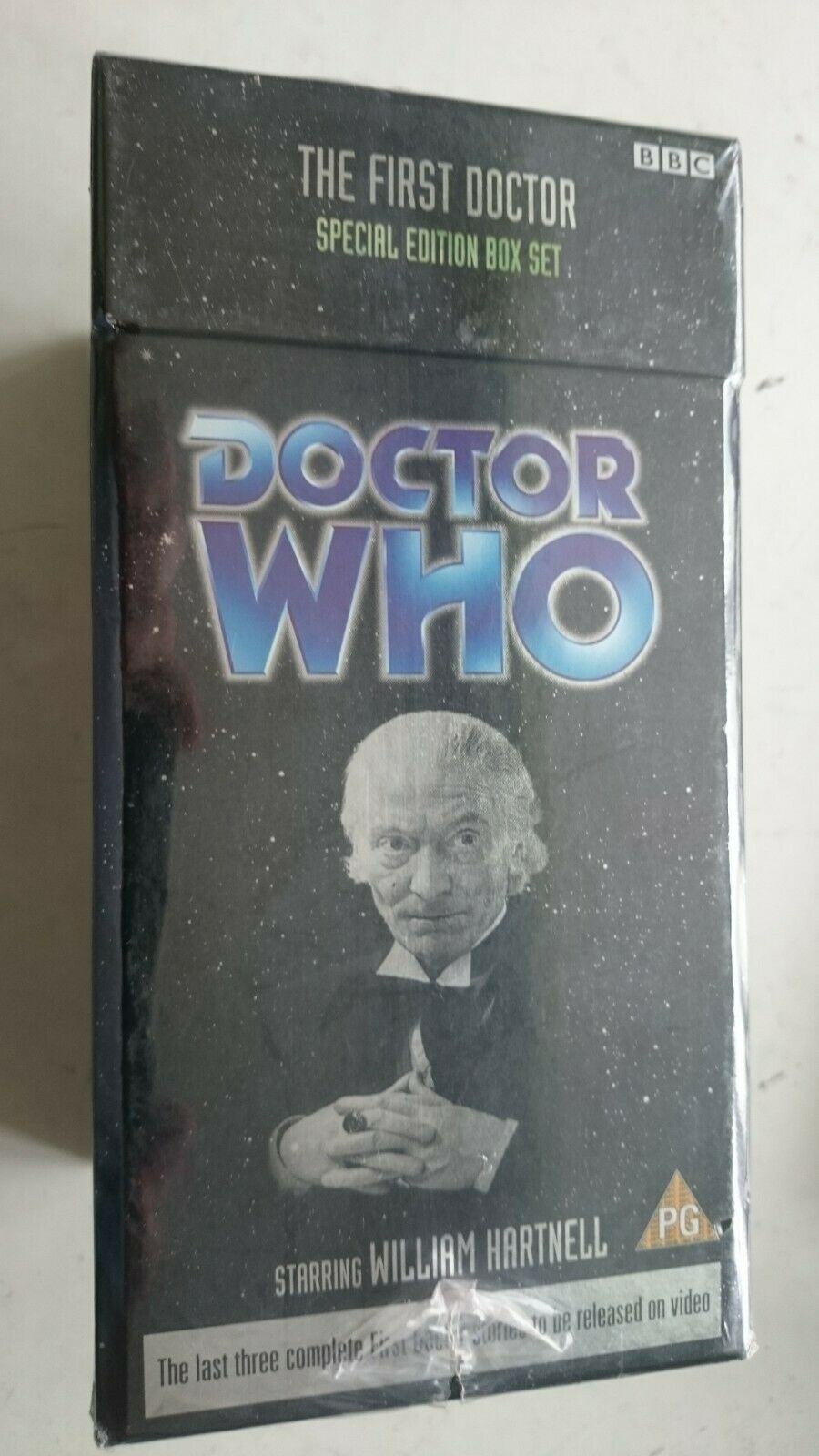 Doctor Who The First Doctor  Ltd Edition Box (VHS 2002) - NEW and SEALED