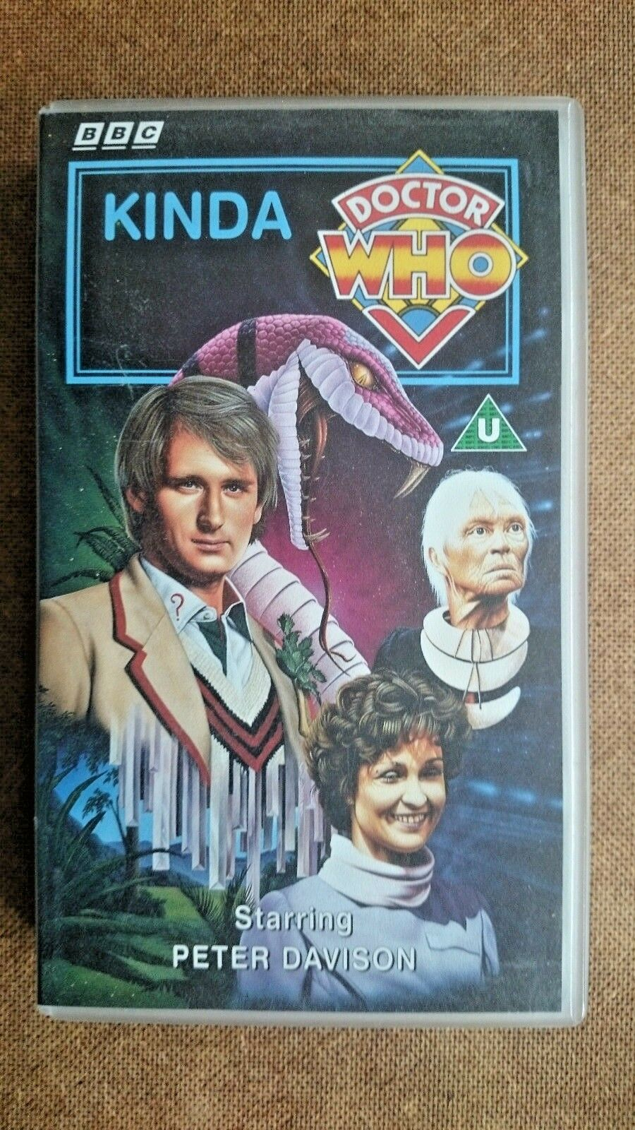 Doctor Who - Kinda (VHS, 1994) Peter Davidson