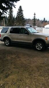 2002 XLT Ford Explorer 4x4 with leather