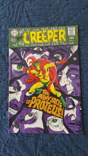 Beware The Creeper #2 DC Comics Jul/Aug 1968 VG/FN 5.0