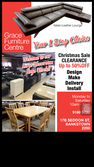 FURNITURE WAREHOUSE  SALE UP TO 50% OFF