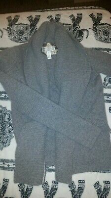 Abercrombie and Fitch Medium womens Wool Grey cardigan sweater