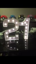 LED 21st Birthday Standing Light Athelstone Campbelltown Area Preview
