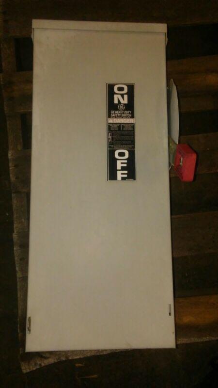 GE 60 Amp 600 Vac Heavy Duty Safety Switch