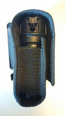 ( Pepper Spray Holster, Black Nylon - (1.5 - 2 oz.) Fox Labs, Sabre, Freeze +P )