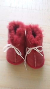 UGG Australia 3-6 month leather ugg boots Denman Muswellbrook Area Preview