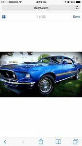 Looking for a 1969 Mustang Mach 1