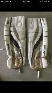 "Bauer Reactor R2000 pro core 28""+1"" junior goalie pads"