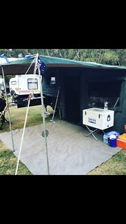 Austrack camper Forster Great Lakes Area Preview