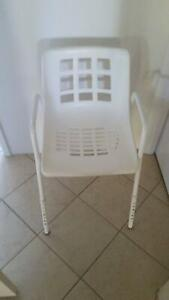 Shower Chair Adjustable Legs
