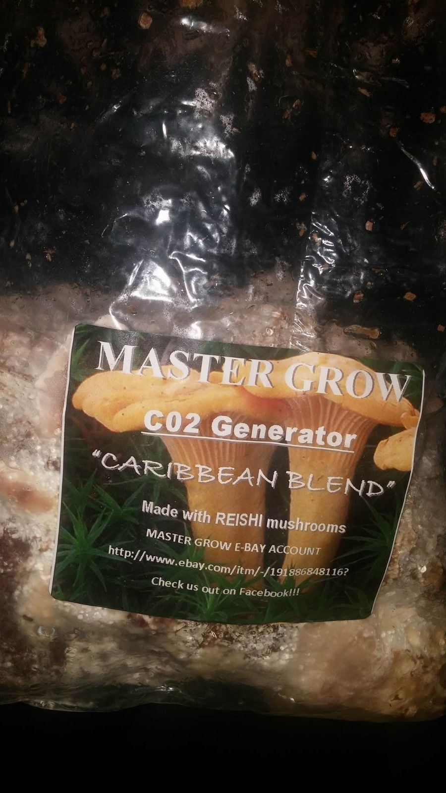 MASTER GROW CO2 Bag's, for plants