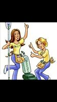 Over ten years cleaning services