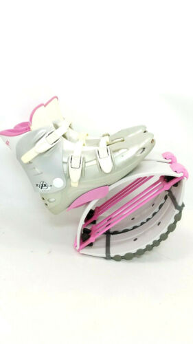 Kangoo Jumps KJ XR3 SE Jump Boots Medium Gray/Pink Adult Unisex Mens Womens