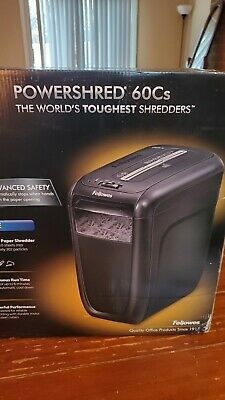 Fellowes Powershred 60cs Cross-cut Paper Shredder