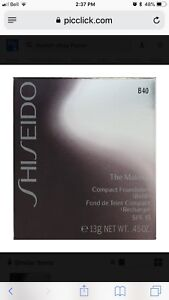 Shiseido B40 The Makeup compact foundation refill BNIB