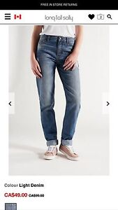 Easy fit weekend jeans/ Long tall Sally