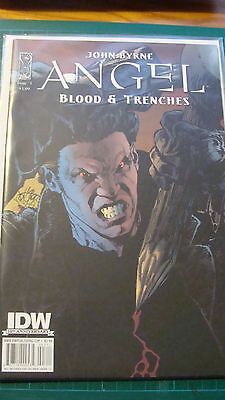 Angel: Blood & Trenches IDW Comic Issue 3 Cover A John Byrne