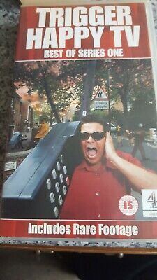 Trigger Happy TV - Best Of Series 1 (VHS,